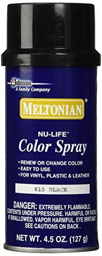 Meltonian Shoe Color Spray - 615 Black (Leather Color Spray compare prices)