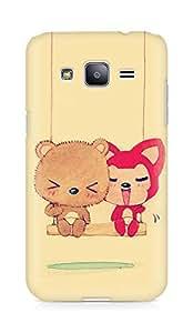 Amez designer printed 3d premium high quality back case cover for Samsung Galaxy J2 (Cute Dolls)