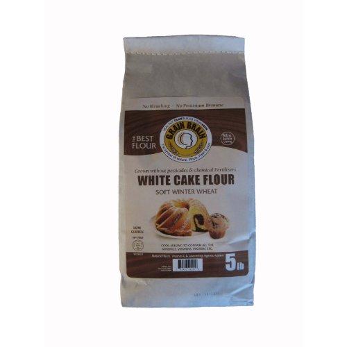White Cake Flour, No bleaching, No potassium bromate, (5 Pound)
