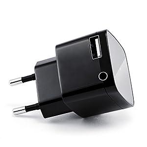 CSL Bluetooth Receiver mit USB Ladeanschluss / Audio-Empfänger | schnurloser- / kabelloser Musikadapter | Bluetooth Audio-Receiver | für Bluetooth Audiogeräte (Smartphone/Tablet / HiFi Anlage / Autoradio) | Bluetooth V2.1 + DER | 3,5mm Klinke Buchse |