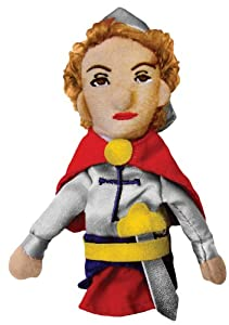 Joan of Arc / Jeanne D'Arc Magnetic Finger Puppet by The Unemployed Philosophers Guild