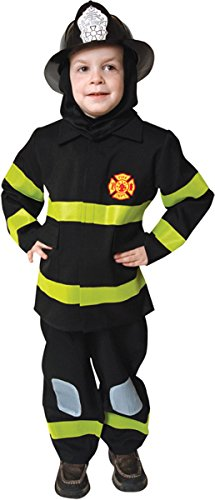 Dress Up America Little Boys' Fire Fighter No Hat Small 4 To 6 (Homemade Firefighter Costume)