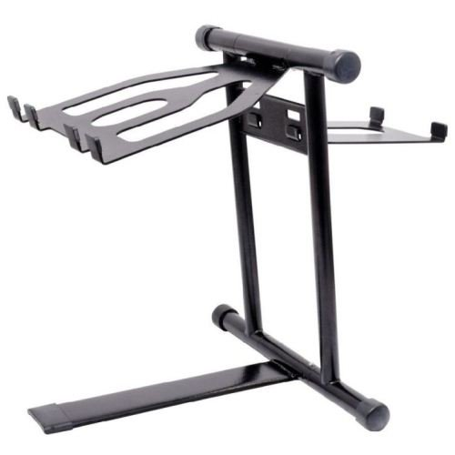 Crane CV1BLACK Standard Dj Laptop Stand - Black DJ Laptop Stand Promo Offer