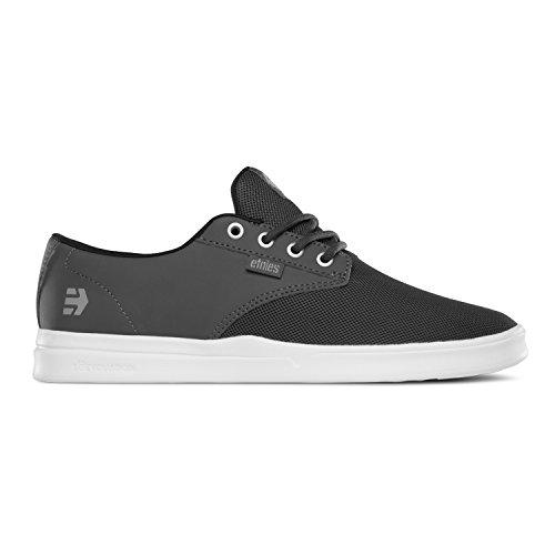 Etnies Men's Jameson SC Skateboarding Shoe, Dark Grey/White, 10 M US