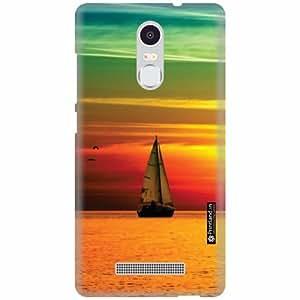 Printland Designer Back Cover for Xiaomi Redmi Note 3 - Ship Case Cover