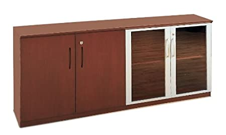 Mayline Corsica Series Low Wall Cabinet with Doors