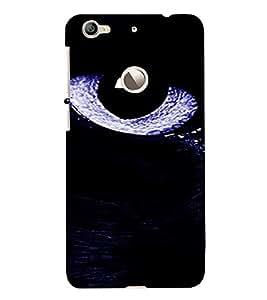 PrintVisa Eyes Design 3D Hard Polycarbonate Designer Back Case Cover for LeEco Le 1S