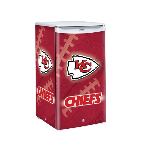 Nfl Kansas City Chiefs Counter Top Refrigerator front-529000