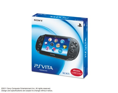 PlayStation Vita 3G/Wi-Fi Model Crystal Black [Japan Import]