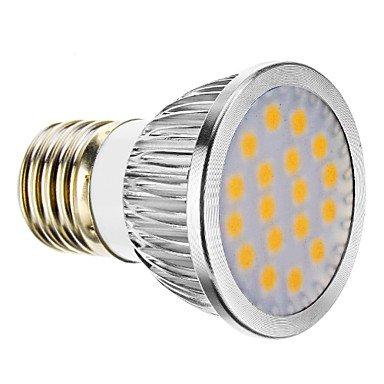 E27 4.5W 18X5060Smd 150-180Lm 2800-3200K Warm White Light Led Spot Bulb (85-265V)
