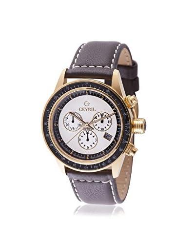 Gevril Men's A2111 Tribeca Analog Display Quartz Brown Watch