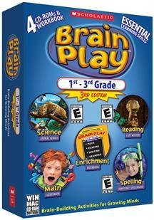 Brain Play 1St-3Rd Grade - 3Rd Edition front-810122
