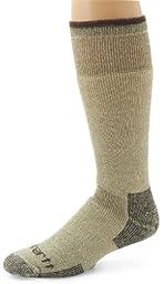 Carhartt Men\'s Arctic Wool Heavy Boot Socks,  Moss, Shoe: 11-15