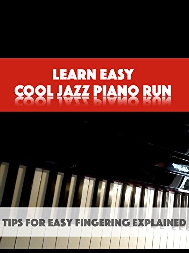 Learn Easy Cool Jazz Piano Run
