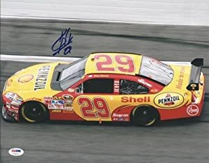 Signed Kevin Harvick Photo - 11x14 #u70823 - PSA DNA Certified - Autographed NASCAR... by Sports Memorabilia