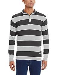 Celio Men's Cotton Blend Sweater (3596654205580_Ceworldaw15_Small_Grey)