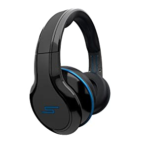 STREET by 50 Cent Wired Over-Ear Headphones - Black by SMS Audio