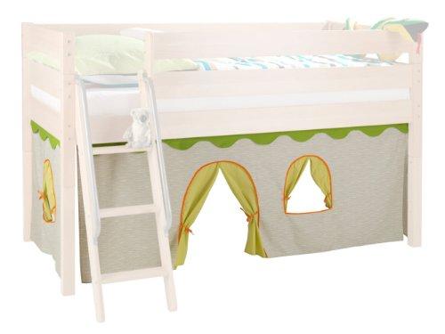 vorhang hochbett dschungel. Black Bedroom Furniture Sets. Home Design Ideas