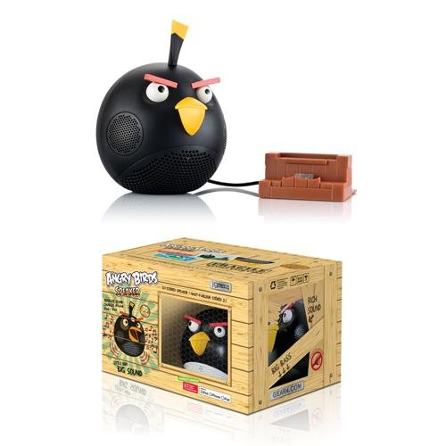 Gear4 Angry Birds Speaker (Black Bird)