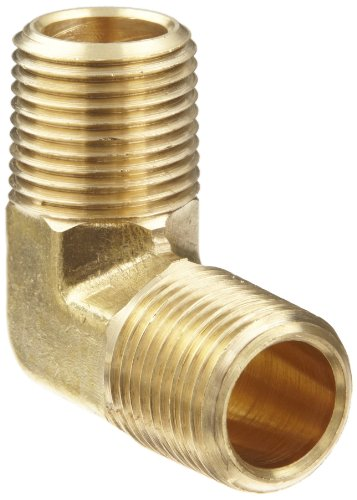 Anderson metals brass pipe fitting degree forged elbow