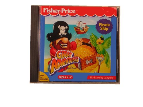 Fisher-Price Great Adventures: Pirate Ship back-658039
