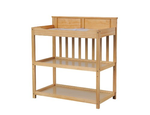 Dream On Me Zoey 3 In 1 Convertible Changing Table, Natural front-947519