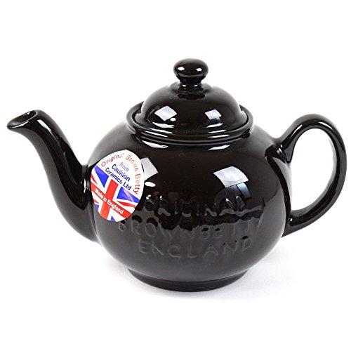 BROWN BETTY ブラウンベティー ティーポット 2カップ Newモデル ロゴ入り 英国製