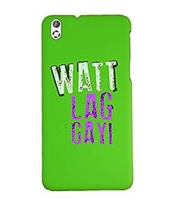 KolorEdge Back Cover For HTC Desire 816 - Green (1033-Ke15163HTC816Green3D)