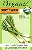 Search : Ferry-Morse 3083 Organic Onion Seeds, Evergreen Bunching (2.2 Gram Packet)