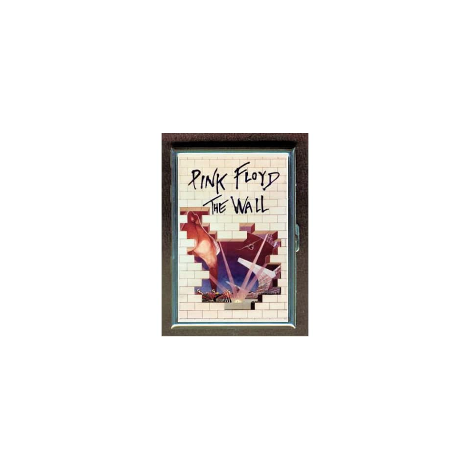 PINK FLOYD THE WALL POSTER 82 ID CIGARETTE CASE WALLET