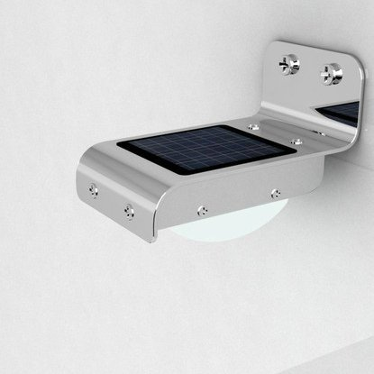Eubest Solar Power Motion Sensor Detector 16 Leds Outdoor Light Home Security Lamp