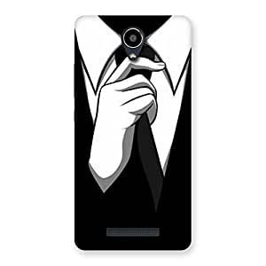 Enticing Tie Knot Back Case Cover for Redmi Note 2