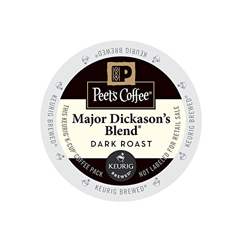 Peet's Coffee & Tea Coffee Major Dickason's Blend K-Cup Portion Pack for Keurig K-Cup Brewers, 22 Count (Libation Cup compare prices)