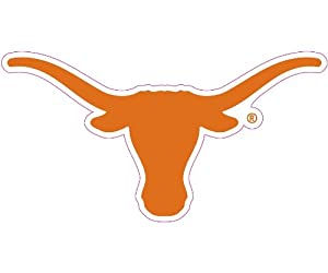 Texas Longhorns Car Magnet Decal (12 -inch)