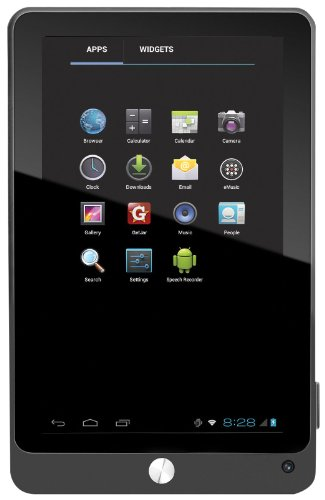 Coby Kyros 7-Inch Android 4.0 4 GB 16:9 Capacitive Multi-Touchscreen Widescreen Internet Tablet with Built-In Camera, Black MID7042-4