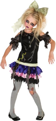 Zombie Doll Costume, Medium