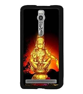 Lord Ayyappa 2D Hard Polycarbonate Designer Back Case Cover for Asus Zenfone 2 ZE551ML
