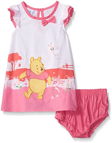 Disney Baby Winnie The Pooh Dress With Rayon and Panty
