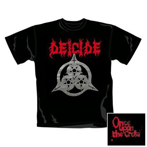 Deicide - T-Shirt Cross (in L)