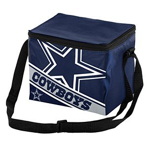 NFL Big Logo Stripe 12 Pack Large Cooler Bag (Cowboys) (Cowboys Cooler Tote compare prices)
