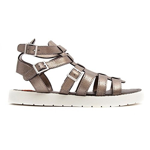 Rocket Dog Thana Womens Synthetic Sandals Silver - 41 EU