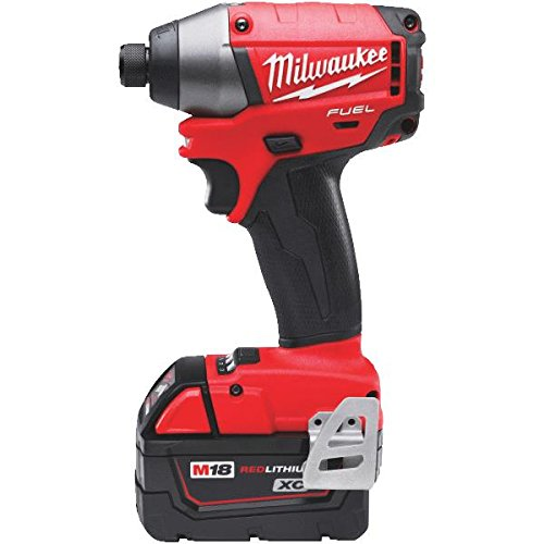 цены  Milwaukee 2653-22 18-Volt Cordless M18 FUEL Lithium-Ion 1/4-in Hex Impact Driver with XC Battery Kit
