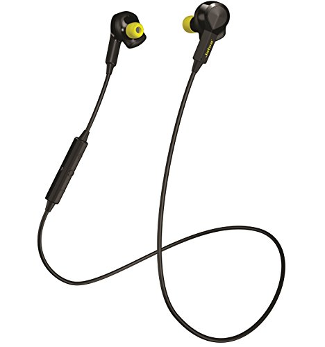 Jabra Sport PULSE Wireless ブラック ワイヤレス Bluetooth イヤホン (スポーツイヤホン 心拍数モニター搭載 防塵防滴) 【日本正規代理店品】