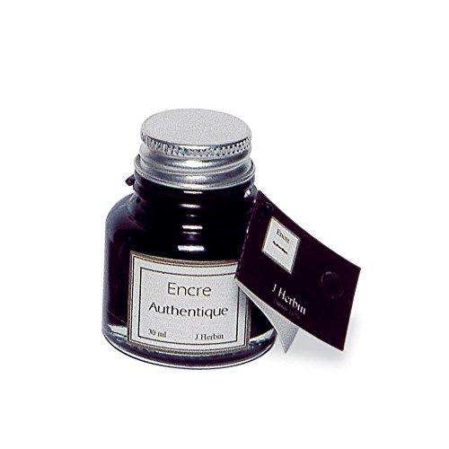 Georges Lalo Flacon d'encre authentique 30 ml Noir