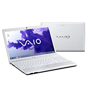"Sony VAIO EH3D0E/W - Ordenador portátil de 15.5"" (4 GB de RAM, 2.2 GHz, Pentium B960, Windows 7 Edition Home Premium, 500 GB de disco duro) color blanco - teclado QWERTY Español"