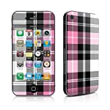 Apple iPhone 4用スキンシール【Pink Plaid】