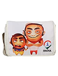 Imagica Mumbai Bhai Women's Sling Bag Off White 1000410002
