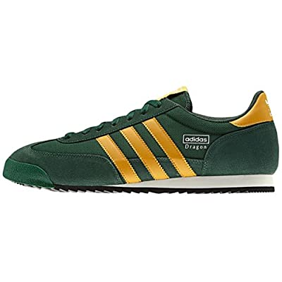 Amazon.com: adidas Dragon NC DARKGREEN CRAFTGOLD WHITE G63402