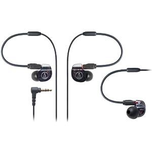 audio-technica デュアル・バランスド・アーマチュア型インナーイヤーモニターヘッドホン ATH-IM02