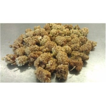 Dried Mulberries By Gerbs - 2Lb. Deal. So2 Free - Certified Top 10 Allergen Free -Potassium Sorbate Free - Non-Gmo